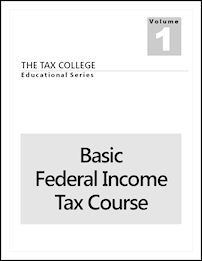 Our Basic Federal Income Tax Course.